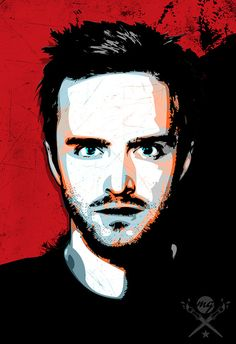 Breaking Bad Poster Jesse Pinkman Pop Art by MediaGraffitiStudio, $100.00