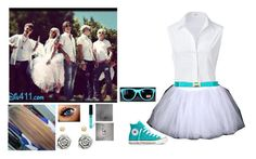 """""""If I was in R5"""" by rosslynch-1145 ❤ liked on Polyvore featuring Steffen Schraut, Popatu, WallPops, Converse, Charlotte Russe, Chamilia and IfIWasInR5"""