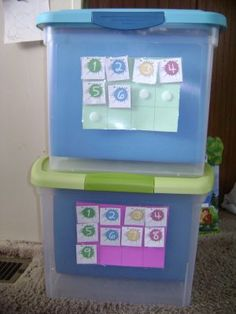 File Folder Workboxes