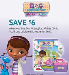 The doctor is in! You can save $6 on Doc McStuffins: Mobile Clinic