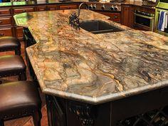 fusion quartzite countertops   Fusion Granite Countertops w/ Single Ogee Edging