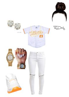"""Untitled #76"" by r3albaddie ❤ liked on Polyvore featuring FiveUnits, Fremada, Auriya, Retrò and Rolex"