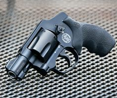 A super-light magnum snubbie, the Smith & Wesson M&P 340 .357 Mag revolver is your littlest and lightest backup!
