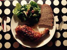 Louženské kuřátko s naším Kaplickým pecnem Steak, Food, Essen, Steaks, Meals, Yemek, Eten
