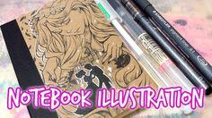 Notebook Illustration ★ A little Fairytale