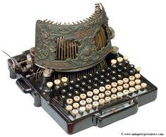 Bar-Lock 4 typewriter - 1892 (Martin Howard Collection)