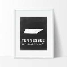 Tennessee Printable by SamanthaLeigh on Etsy