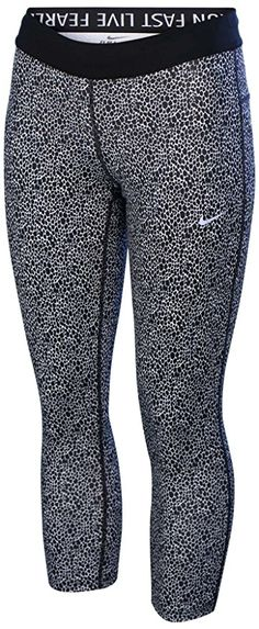 Amazon.com: Nike Women's Dri-Fit Printed Relay Crop Running Tights: Sports & Outdoors
