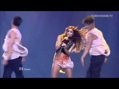 """The live performance of the Greek entry in the Eurovision Song Contest 2012 (Baku, Azerbaijan) which was """"Aphrodisiac"""" performed by Eleftheria Eleftheriou. At the end of the contest, Greece ended 17th with 64 points."""