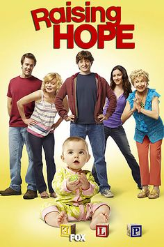 Raising Hope ...  This show is hilarious and ultimately warm hearted too ...