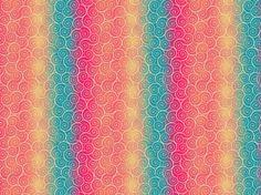 """Sugar Swirls"" by Sesora79 blue, orange, pink, sugar, swirls"