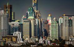 Gotham City Sunset by Hans-Peter Deutsch on 500px