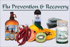 Influenze (Flu) Virus / Viruses - Natural and Alternative Medicine
