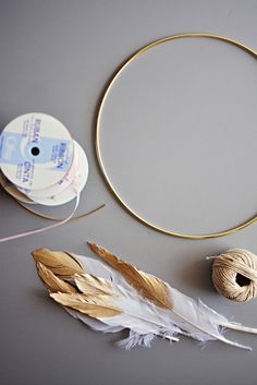 DIY Dream Catcher Mobile 10