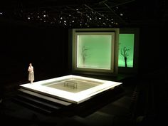 Frozen. Playmakers Repertory Theatre. Scenic design by Narelle Sissons. Lighting by Justin Townsend.