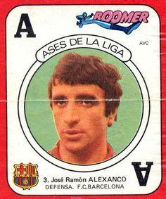 ALEXANCO (F.C. BARCELONA - 1983-84) Chicles Boomer