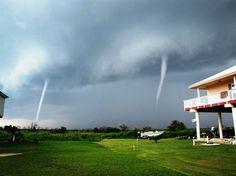 twin tornadoes