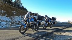 En la nieve Motorcycle, Vehicles, Snow, Paths, Motorcycles, Car, Motorbikes, Choppers, Vehicle