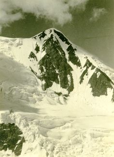 Mount Bertha, Alaska in 1940. From the #LowellThomas Collection