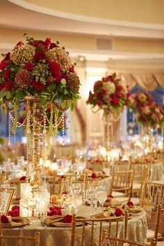 RED GOLD WEDDING