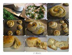 Türkische Käseschnecken