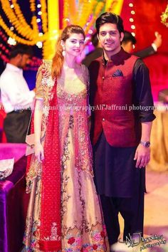 Anam Gohar with Husband!