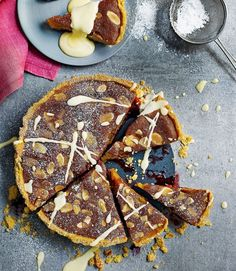 Blackberry and lime bakewell tart - delicious. magazine