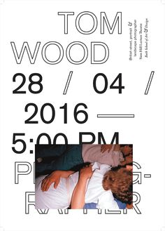 PAS MAL: A design research — charlienewhouse: tom wood lecture series poster . Graphisches Design, Buch Design, Layout Design, Graphic Design Posters, Graphic Design Typography, Type Posters, Poster Designs, Layout Inspiration, Graphic Design Inspiration