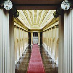 View Playfair Library Hall, The University of Edinburgh, II by Candida Höfer sold at Photographs on 16 Oct & New York . Edinburgh University, Corridor Design, Amazing Buildings, Amazing Weddings, Event Marketing, Travel Themes, Best Artist, Store Design, Fotografia