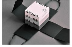Bruno, a french pastry chef, asked Baptiste David to create his visual identity as he is launching his own brand. The concept is simple, Bruno's cakes are so good, everyone wants a slice of them! Miam!