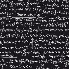 Set of Math scribble design vector 03