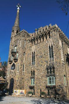 Buildings by Antoni Gaudi