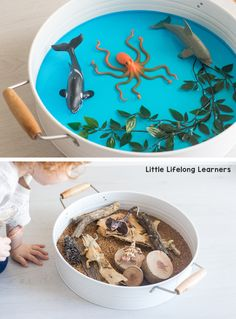 How To Get Started With Small World Play - Little Lifelong Learners Play Based Learning, Learning Through Play, Learning Spaces, Learning Environments, Toddler Play, Baby Play, Toddler Games, Baby Sensory, Sensory Play
