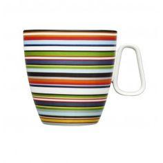 Origo Kaffeetasse - Posliini ja keramiikka ☆ Porcelain and ceramics - Porcelain Mugs, Ceramic Cups, Design Shop, Orange Mugs, Newlywed Gifts, New Homeowner, Plates And Bowls, Mugs Set