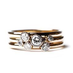 Diamond posy ring - Bespoke Jewellery