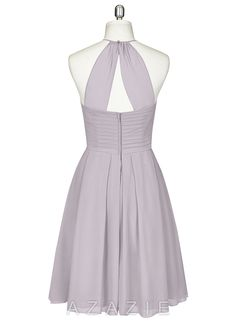 Perfect grey bridesmaid or prom dress with POCKETS!