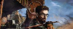 Half Life: Forget About Freeman Half Life Game, Gordon Freeman, Valve Games, Classic Video Games, Video Game Art, All About Time, Character Art, Concept Art, Things To Come