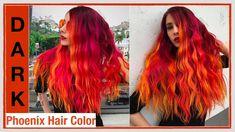 Dark Phoenix Hair Color