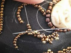 Oglala stitch how to - #seed #bead #tutorial
