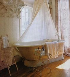 Lovely, but I don't think I could live without a real shower...