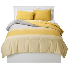 Target : Room Essentials Soft Colorblock Duvet Cover Set : Image Zoom