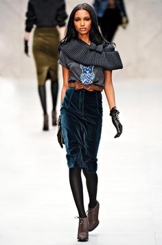 ANDREA JANKE Finest Accessories: London Fashion Week | Town and Field by Burberry
