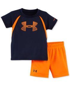 Under Armour Baby Boys' Energy Logo T-Shirt & Shorts Set
