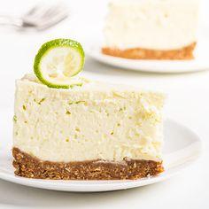 """No-Bake Key Lime """"Cheesecake"""" - Paleo Recipes Dessert Sans Gluten, Paleo Dessert, Healthy Desserts, Dessert Recipes, Paleo Recipes, Dessert Food, Paleo Cheesecake, Key Lime Cheesecake, Paleo Grubs"""
