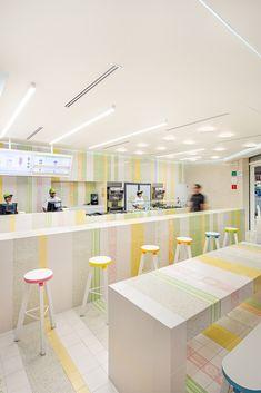 Gallery Of Nutrisa / Cadena Concept Design   #terrazzo