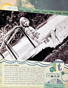Something Old, Something New, Something Stamped and Something Blue challenge - Mandy Koeppen
