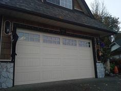 Clopay Gallery Premium Garage Door in Almond