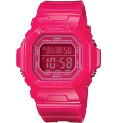 Proving that pink is the new black, this Baby-G watch is a smaller, cuter analog to Casio's iconic G-Shock that still manages to incorporate. G Shock, John Krasinski, Casio G-shock, Casio Watch, Sport Watches, Watches For Men, Nice Watches, Wrist Watches, Men's Watches