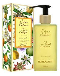 Crème Perfumée Fruit Exotique :: Mahogany Cosméticos