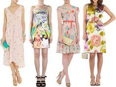Feminine Or Funky Summer Fl Wedding Guest Dresses